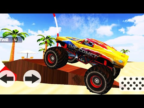 Offroad Beach Car Driving - Mobil Mobilan Monster Truck Android GamePlay