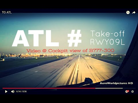 Take-off @ ATLANTA - Hartsfield Jackson Int