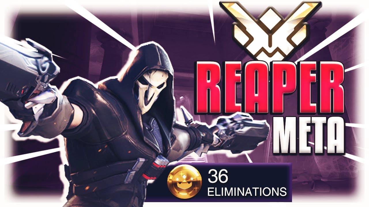 Reaper Meta Korean Pro Ado Overwatch S18 Youtube