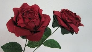 Tutorial - How To Make An Origami Rose