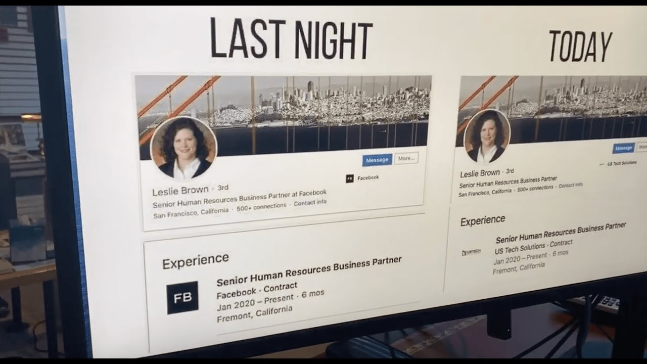 CONFIRMED: Facebook Senior HR Business Partner Leslie Brown FIRED following Project Veritas video!