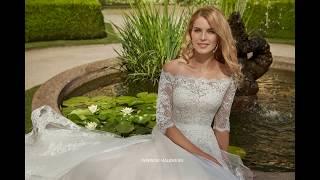 Кружевные свадебные платья 2018