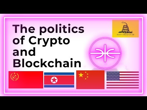 Blockchain politics, china social credit, crypto anarchists and the future of blockchain!