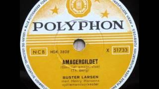 Amagergildet - Henry Hansens spillemandsorkester; Buster Larsen 1955