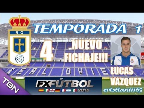 "FX FÚTBOL 2015 PC - TEMPORADA 1 - Real Oviedo - Nuevo fichaje ""Lucas Vazquez"" - Español HD #4"