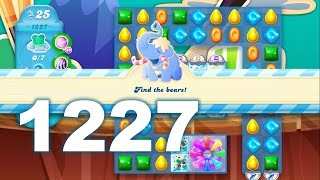 Candy Crush Soda Saga Level 1227 (No boosters)