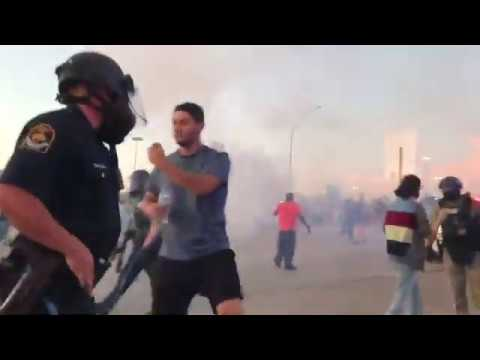 Compilation Of Police Brutality During Peaceful Protests Of George Floyd's Death Across America