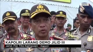 Kapolri Larang Demo Jilid III dengan Sholat Jumat di Jalan Protokol