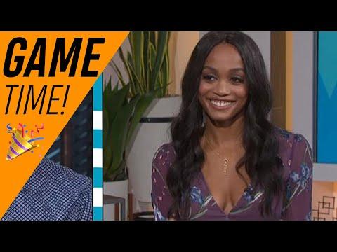 'Bachelorette' Alum Rachel Lindsay & Bryan Abasolo Play The Soon-To-Be-Wed Game   Access