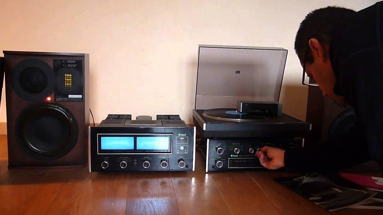 Essai ampli mcintosh mc2255 pr ampli c33 platine revox b790 youtube - Ampli platine vinyle ...