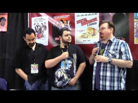 Brian O'Halloran and Scott Schiafo Interview Comiconn 2014