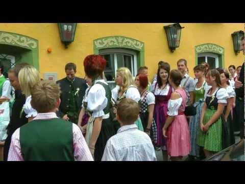 AUSTRIA wedding party in Radstadt, 23rd of June 2012 (hd-video)