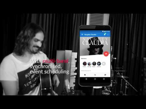 bandster.io - Band Management app