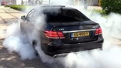 Mercedes-Benz W212 E500 E550 Biturbo M278 Sound Straight