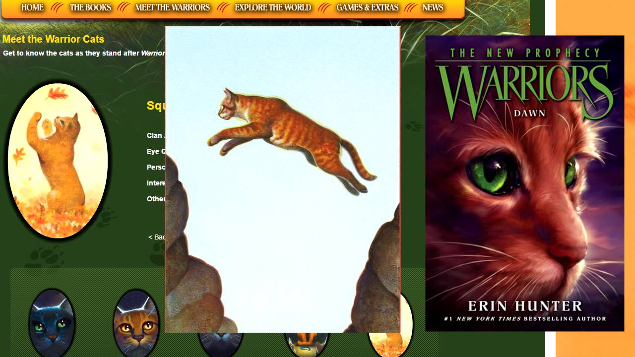 Color Of Warrior Cat Eyes
