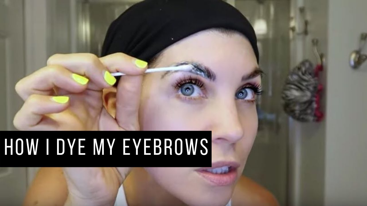 How to Tint Your Eyebrows at Home | How To Dye Eyebrows at ...