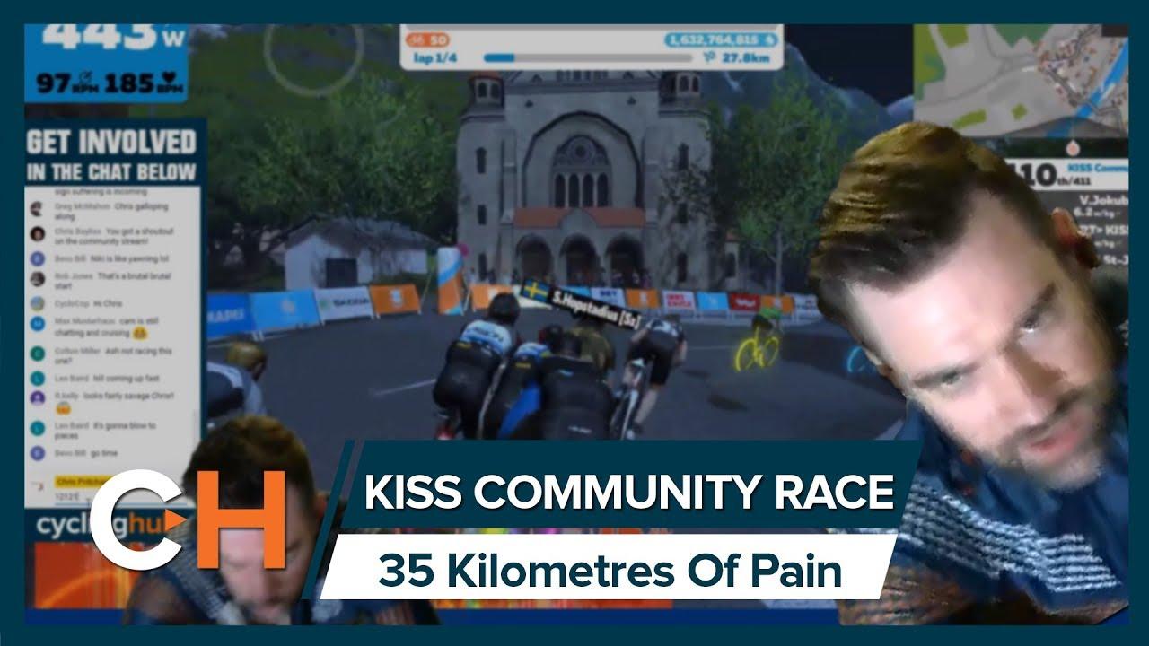 ZWIFT KISS COMMUNITY LEAGUE LIVE RACE!