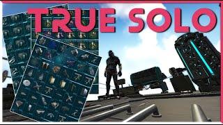 True Solo S3 E2: Defeating the SMARTEST PLAYER IN ARK