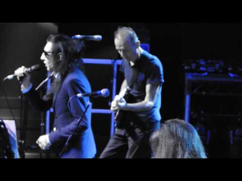 John Cooper Clarke and Hugh Cornwell The Ritz Manchester