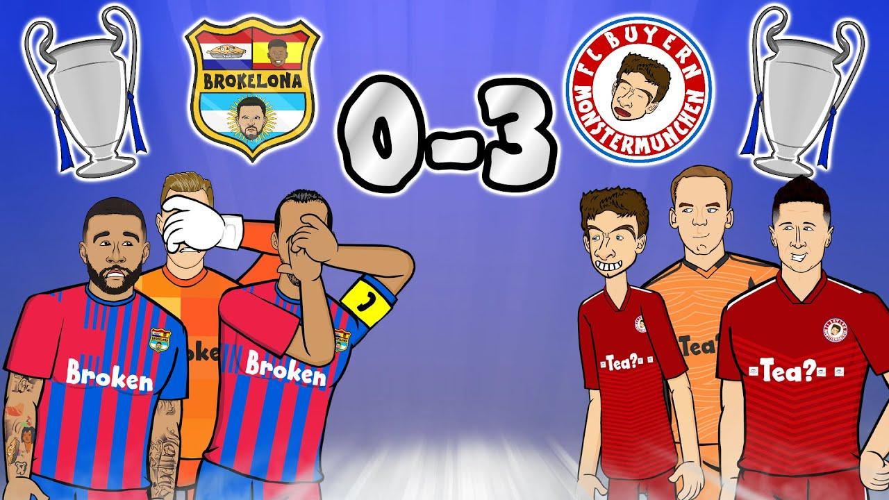 Download 🚮BARCELONA ARE TRASH🚮 (Barca vs Bayern Munich 0-3 Champions League 21-22 Parody Goals Highlights)