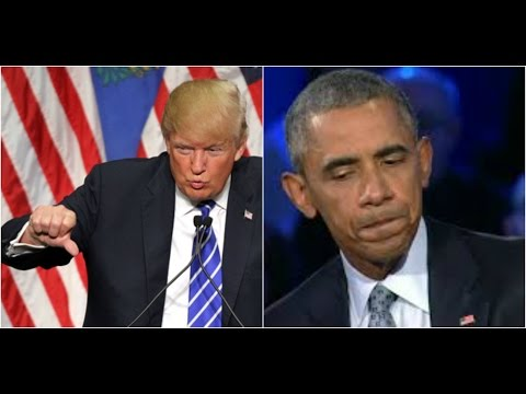 President Donald Trump Tells all of Obama
