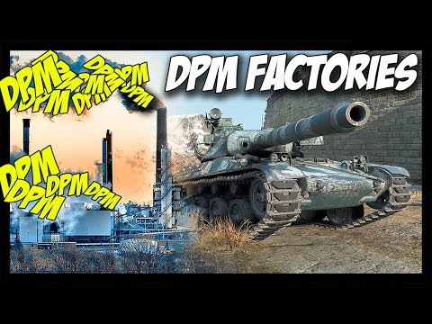 ► World of Tanks: DPM Factories - New AMX 30B and STB-1