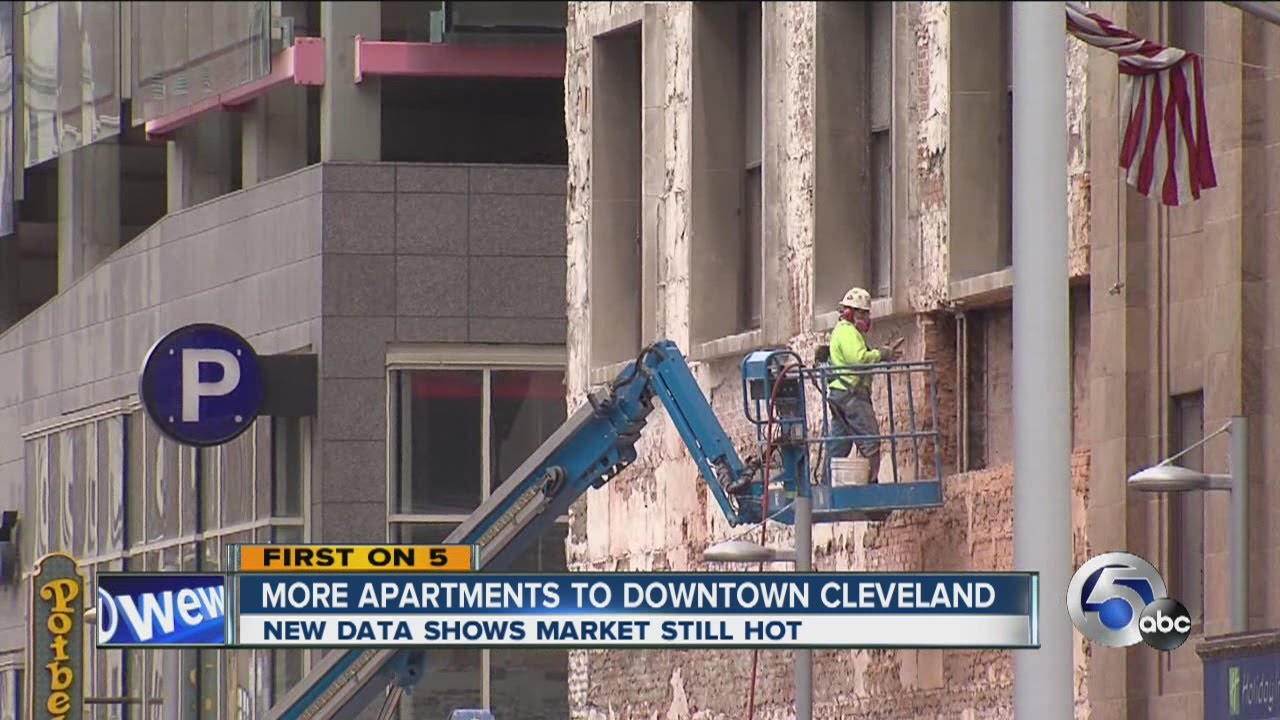 More apartments planned for downtown Cleveland - YouTube