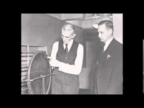 Tesla's recorded speech