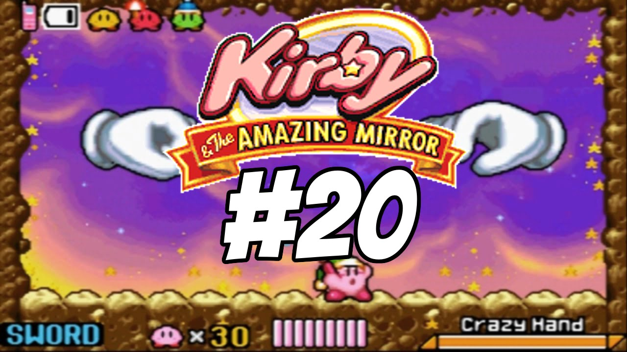 Kirby and The Amazing Mirror Episode 20: Master Hand & Crazy Hand