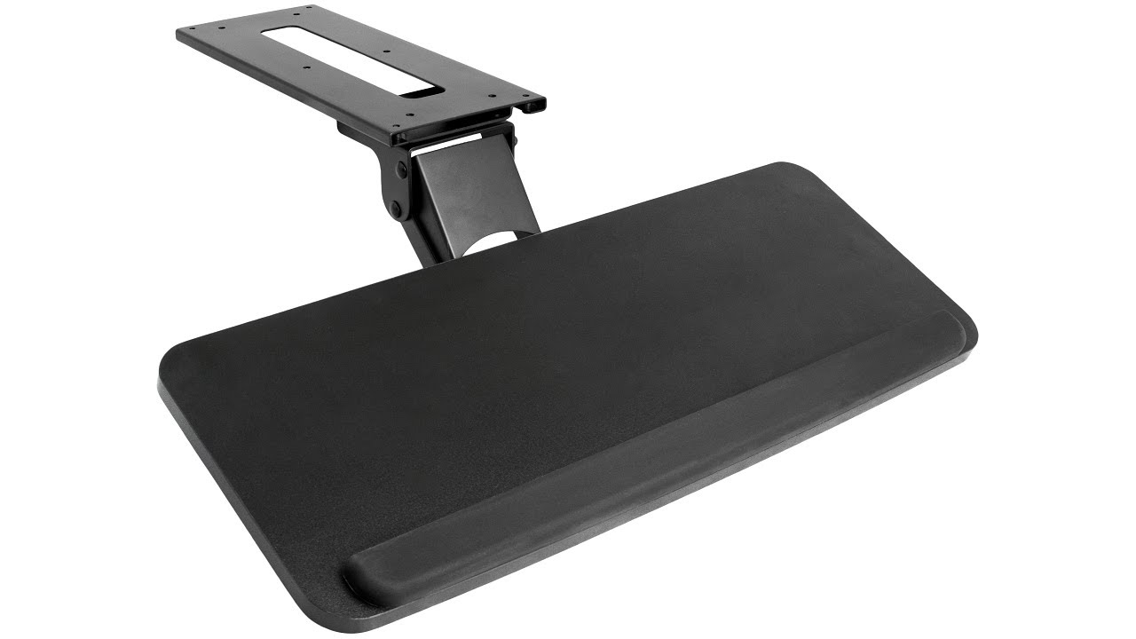 Mount Kb03b Keyboard Amp Mouse Desk Mount By Vivo Youtube