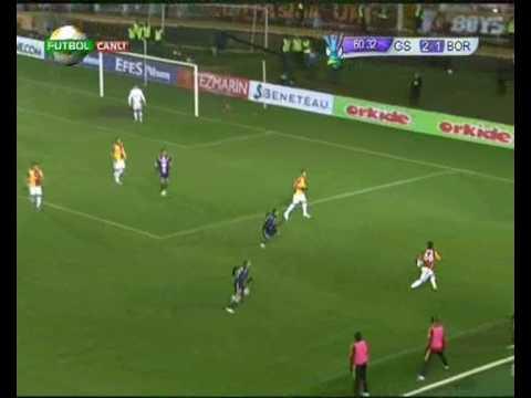 Galatasaray Bordeaux Arda Lincoln Baros Müthiş Paslaşma