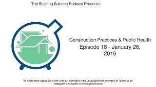 Construction practices & public health ...
