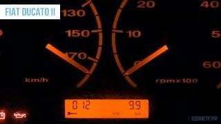 Крутилка, подмотка, моталка спидометра Fiat Ducato II (Фиат Дукато 2 поколения)