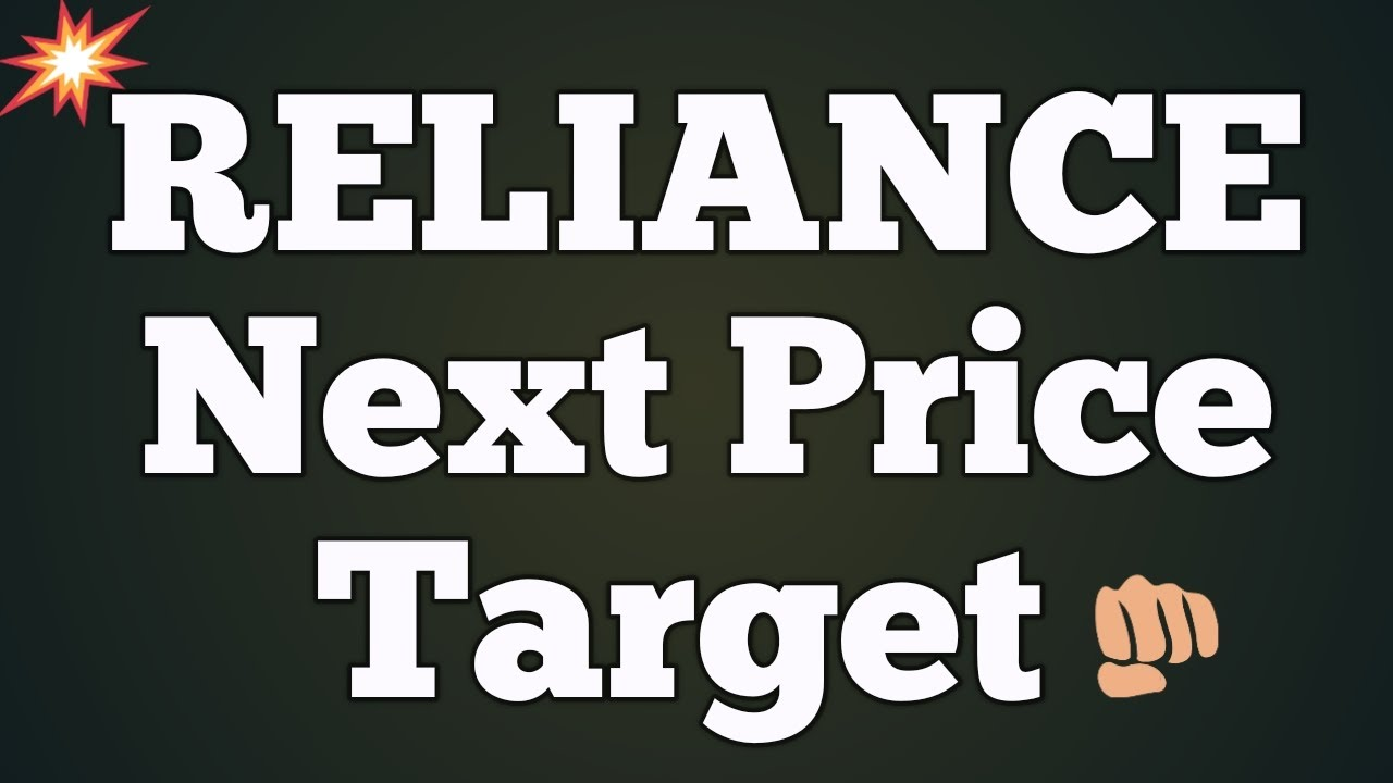 Reliance Next Price Target Reliance Share Price Reliance Share News Reliance Share Ril Share Youtube