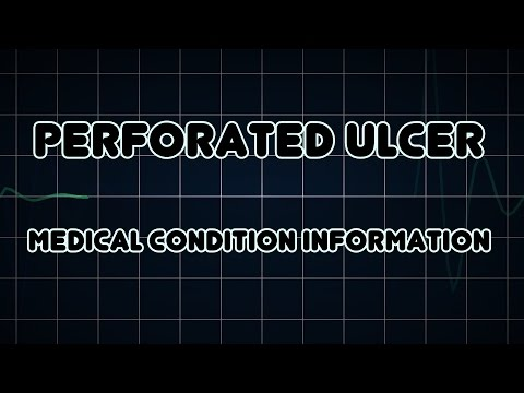 Perforated ulcer (Medical Condition)