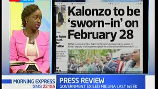 The bluff that is NASA's 28th February 2018 swearing-in of Kalonzo Musyoka
