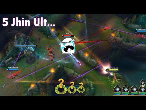 ONE FOR ALL FUNNY MOMENTS 2020 (5 Jhin Ult, 1 Maokai vs 5 Draven...)