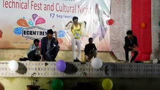 Dance by ece boys jntuk narasaraopet