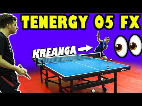 Tenergy 05 FX Rubber Review | With Kalinikos Kreanga