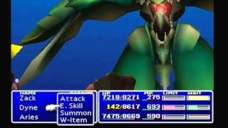 FF7 Boss Battles Disc 3