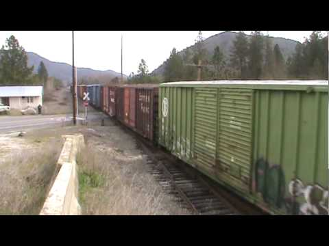 Central Oregon & Pacific #504 at Knife River