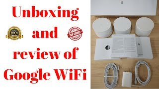 Google WiFi unboxing and review||google wifi unboxing||unboxing and review of google wifi