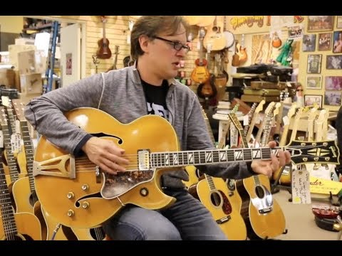 Playing THE FORBIDDEN RIFF in a Huge Guitar Store