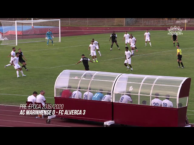 AC Marinhense vs FC Alverca - Highlights