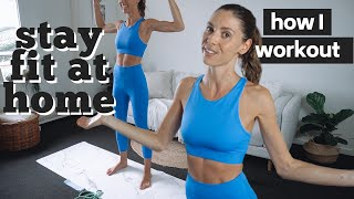 HOW I WORKOUT AT HOME | Stay fit during lockdown with Callie Travel Fit