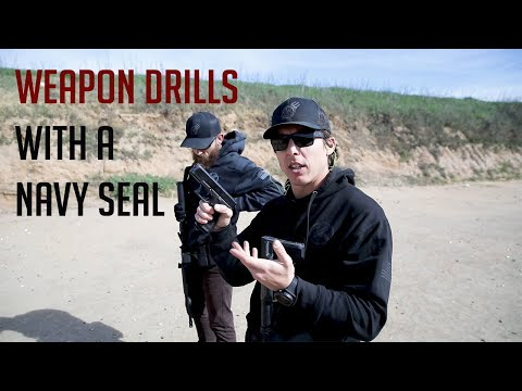 Carbine And Pistol Drills With A Navy SEAL Ft. Tyler Wombles