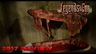 Legends of the Fog Review 2017 FrightTour Aberdeen Maryland
