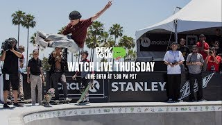 Day 1: Dew Tour Am Park and Street Finals LIVE