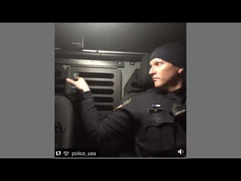 Police Scare Dog For Fun - Old K-9 Tricks - Good Clean Fun