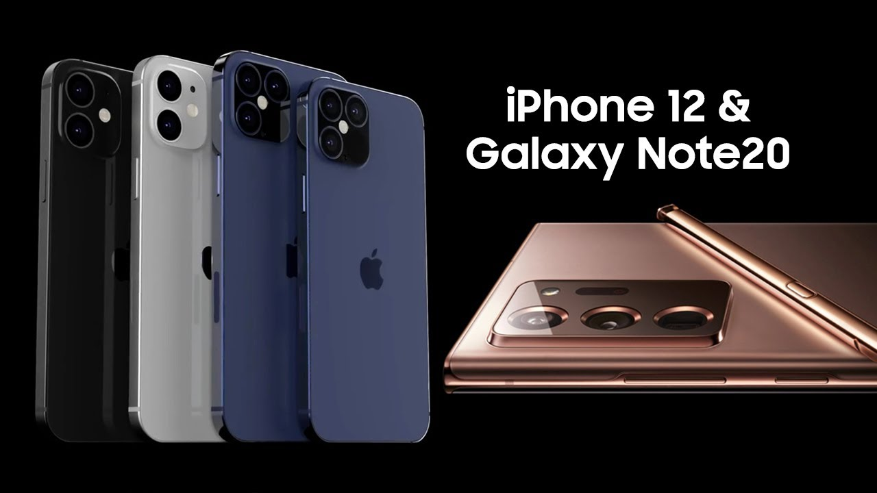 iPhone 12 & Galaxy Note 20 Official Leaks!!! Massively HUGE